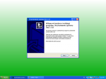 Instalator dla Windows - krok 1 - ekran powitalny